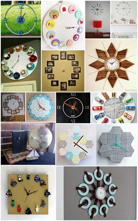small clocks for craft projects 20 ingenious diy clock project ideas recycled things