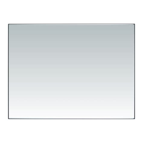 flat bathroom mirrors everton 1200 x 900mm polished flat edge mirror bunnings