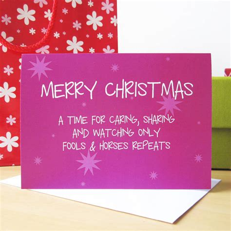 only fools and horses trees only fools and horses card by mrs l cards