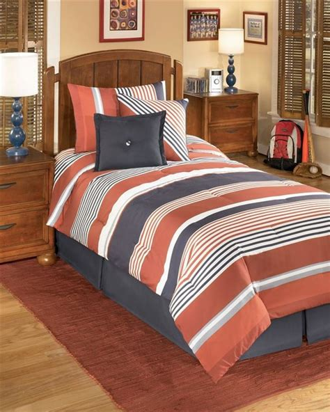 youth comforter sets striped youth comforter bedding set contemporary