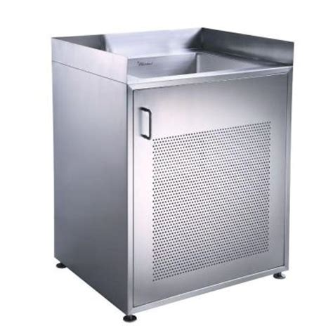 laundry sink with cabinet whitehaus collection 30 in x 25 in stainless steel freestanding utility sink and cabinet