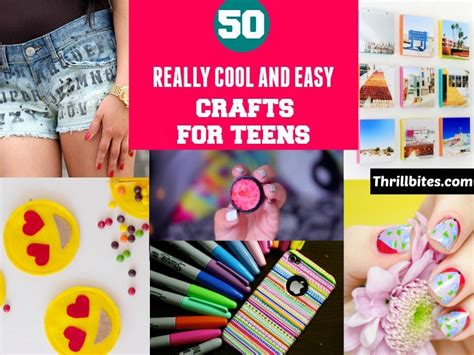 craft project ideas for teenagers 50 really cool diy crafts for crafts
