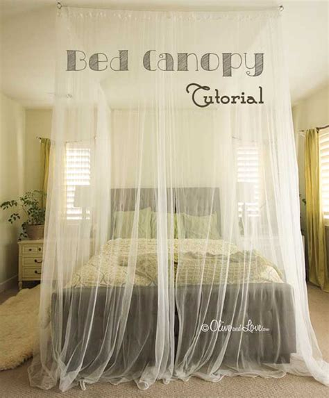 diy canopy 20 magical diy bed canopy ideas will make you sleep