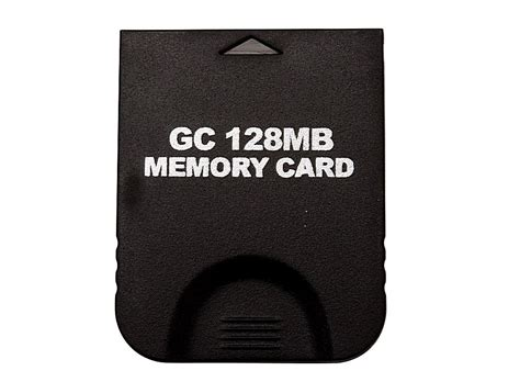 how to make a gamecube memory card memory card for nintendo gamecube gc 128mb v00098 buy at