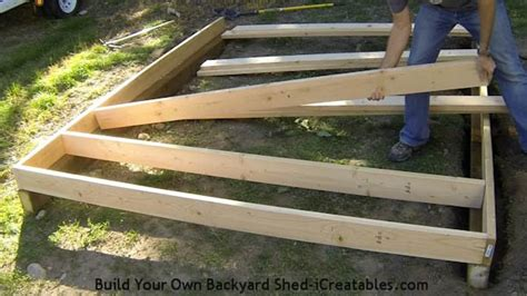 how to build a floor for a house shed plans how to build a shed icreatables