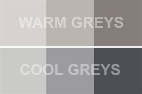 paint colors vs light colors warm gray vs cool gray bring positive results home