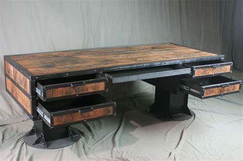 vintage industrial desk combine 9 industrial furniture vintage industrial