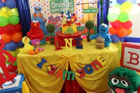 Southern Blue Celebrations: Sesame Street Party Ideas