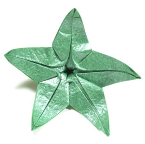 origami calyx how to make a five sepals cb superior origami calyx page 5