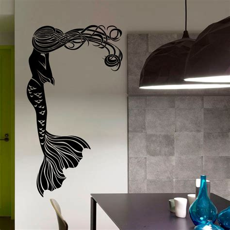 mermaid wall sticker mermaid wall sticker 28 images mermaid and shoal of