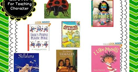 using picture books to teach character traits character ed picture books using picture books to teach