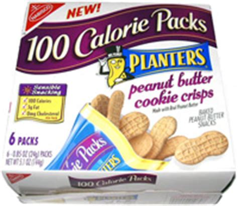 planters peanut butter crisps 100 calorie packs planters peanut butter cookie crisps