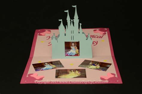 how to make a pop up castle card castle pop up card template creative pop up cards