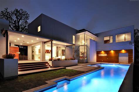 modern mansion house architecture wallpaper house mansion pool modern interior high
