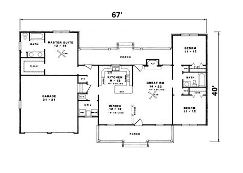 simple floor plans floor plans for ranch house plans with walkout basement