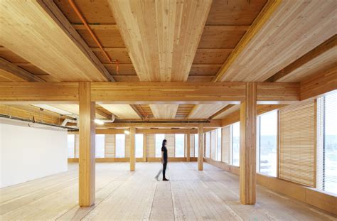 woodworking centre wood innovation design centre michael green architecture