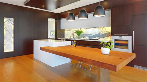 modern kitchen island bench 15 beautiful kitchen island with table attached home design lover
