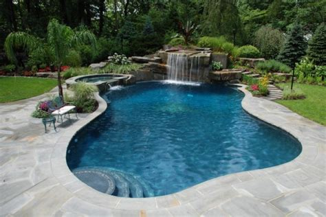 pictures of backyard pools tropical backyard waterfalls allendale nj cipriano