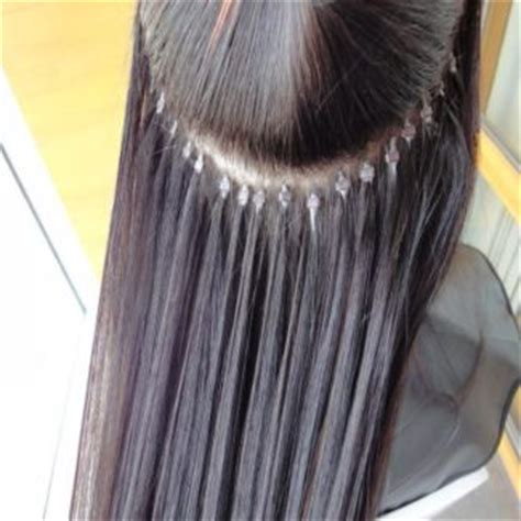 micro bead extensions for thin hair microbead hair extensions the and of it