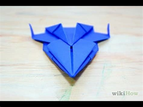 origami space ship how to make origami spaceship