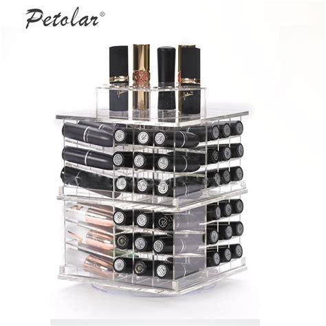 makeup holder clear rotating display makeup organizer spinning cosmetic