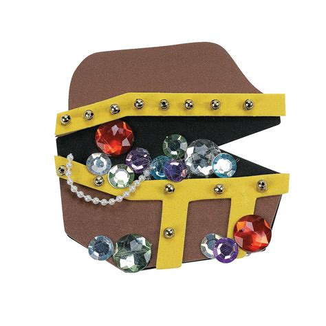 treasure chest craft for treasure chest magnet craft kit trading