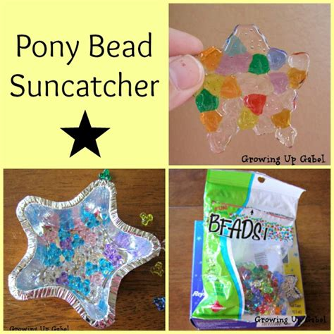crafts with pony pony suncatcher craft
