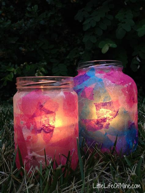 decoupage candle jars decoupage ramadan and eid lanterns ramadan treats