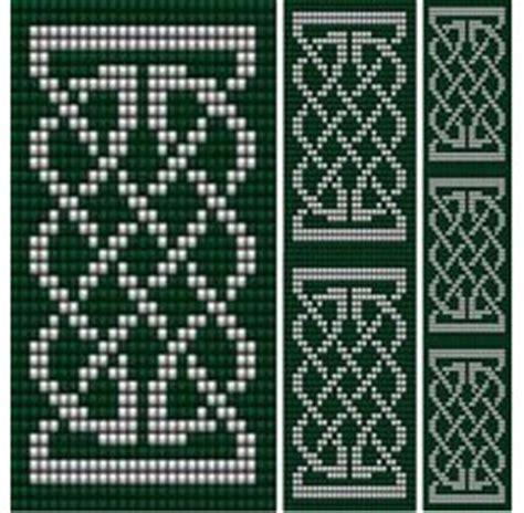 celtic bead patterns celtic knot 1 loom sova enterprises bead patterns