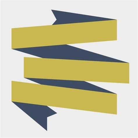 origami banner vector origami ribbon banner vector eps vector image 365psd
