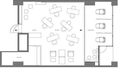 nail salon floor plan design small salon design pictures studio design gallery