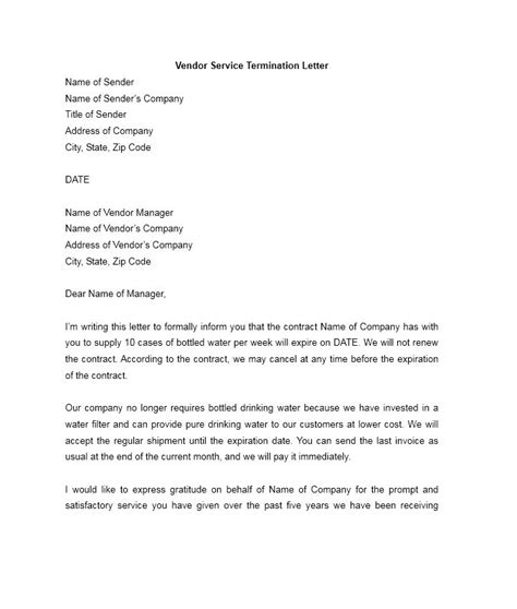 Subcontractors Agreement Template 35 perfect termination letter samples lease employee