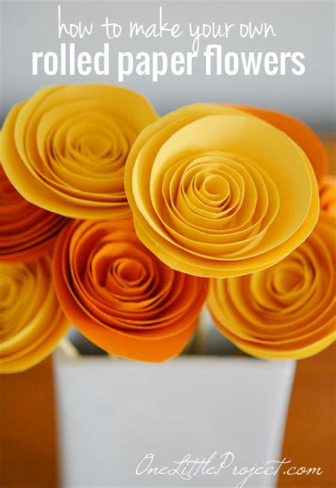 how to make paper roses for cards how to make rolled paper flowers