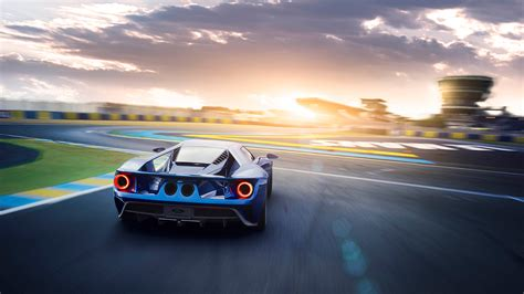 Hd Car Wallpapers 2017 by 2017 Ford Gt Rear Wallpaper Hd Car Wallpapers Id 6693