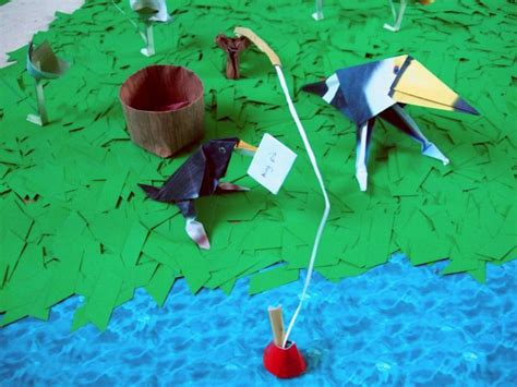 origami fishing pole joost langeveld origami page