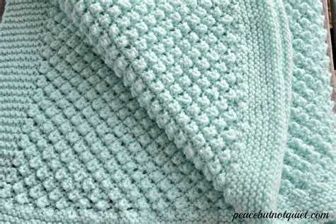 knitted blanket patterns for babies easy knitting patterns popcorn baby blanket peace but