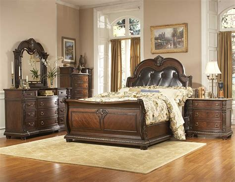 bed bedroom sets homelegance palace bedroom collection special 1394 bed set