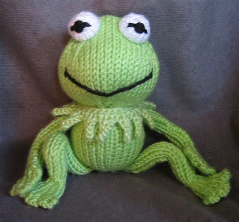 frog knitting pattern free kermit the frog with frog legs flickr photo