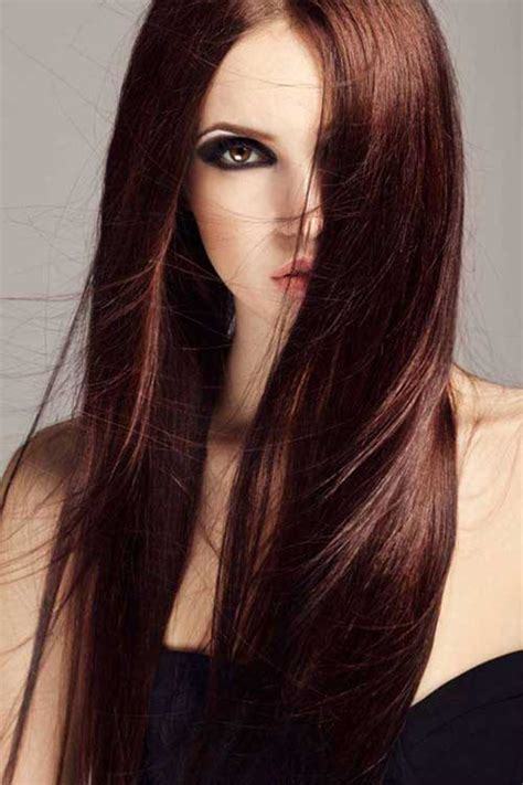 chocolate brown color chocolate brown hair color ideas hairstyles 2016 2017