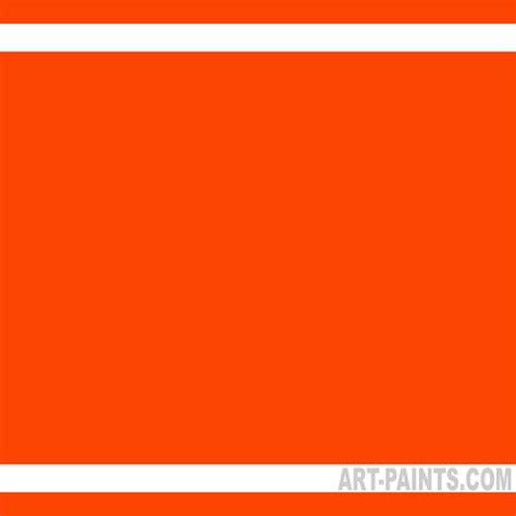paint colors orange fluorescent orange student acrylic paints 00711 4556