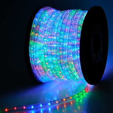 led lights multi color lighting led rope light 150ft multi color with