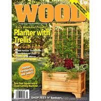 free woodworking magazine subscriptions wood magazine free four issue subscription vonbeau