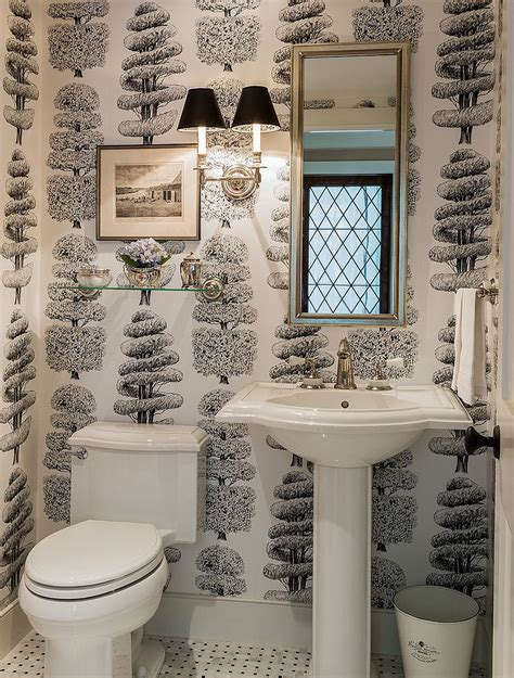wallpaper for powder room best wallpaper for powder rooms studio design