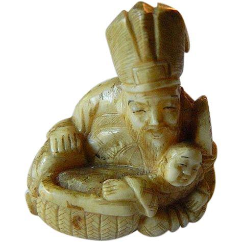 carved bone carved bone netsuke sold on ruby