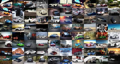Car Collage Wallpaper by Car Nissan Skyline Gt R Nissan Collage Wallpaper