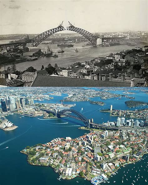 is it in australia now 20 skylines of the world then vs now hongkiat
