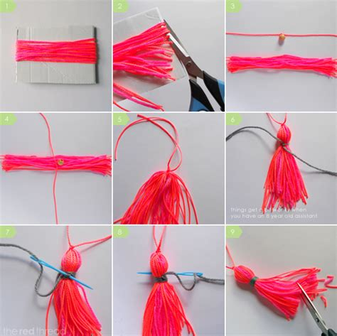 how to make a beaded tassel how to make a tassel we are scout