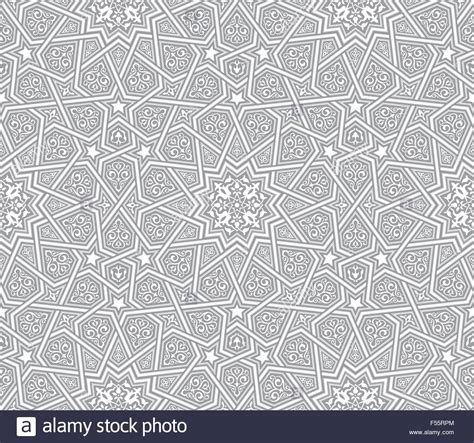 ornament background islamic ornament grey vector background stock vector