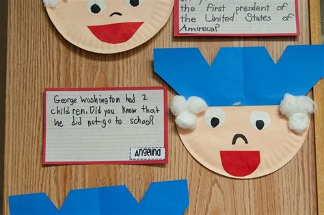 george washington crafts for george washington craft teaching