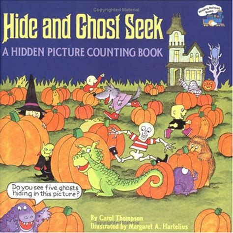 show me a picture of a book hide and ghost seek by carol thompson reviews